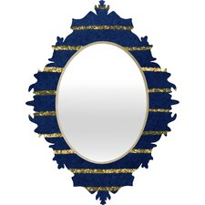 Social Proper Nautical Sparkle Mirror