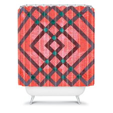 Randi Antonsen Woven Polyester Hoping for the Best Shower Curtain