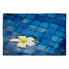 <strong>DENY Designs</strong> Bird Wanna Whistle Floating Flower Novelty Rug