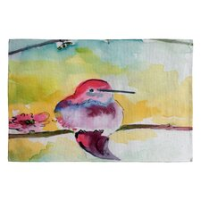 <strong>DENY Designs</strong> Ginette Fine Art Humminbird Novelty Rug