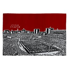 <strong>DENY Designs</strong> Bird Ave Ohio State Buckeyes Novelty Rug