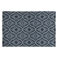 Heather Dutton Dusk Trevino Black/Gray Geometric Area Rug