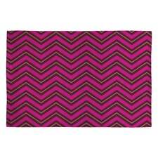 Caroline Okun Chocolate Chevron Rug