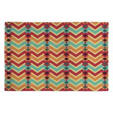 Budi Kwan Fractal Mountains Candy Area Rug