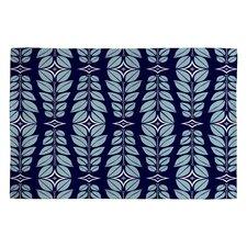 Heather Dutton Cortlan Navy Yard Blue Floral Area Rug