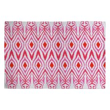 Amy Sia Watermelon Ikat Rug
