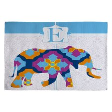 Jennifer Hill Elephant 3 Kids Rug