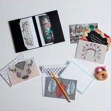 <strong>DENY Designs</strong> Wesley Bird Note Card Set