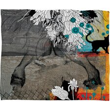 Iveta Abolina Stay Awhile Polyester Fleece Throw Blanket