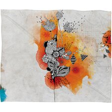Iveta Abolina Forbbiden Thoughts Polyester Fleece Throw Blanket