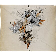 <strong>DENY Designs</strong> Iveta Abolina Floral 1 Polyester Fleece Throw Blanket