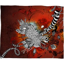 Iveta Abolina Wild Lilly Polyester Fleece Throw Blanket