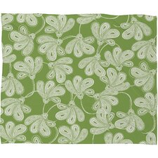 Khristian A Howell Provencal Thyme Polyester Fleece Throw Blanket