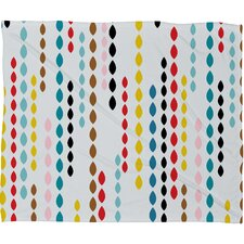 Khristian A Howell Nolita Drops Polyester Fleece Throw Blanket