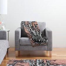 Romi Vega Bike Polyester Fleece Throw Blanket