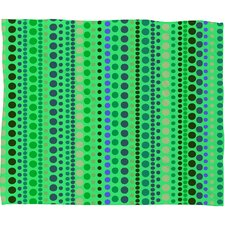 Romi Vega Retro Polyester Fleece Throw Blanket