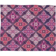 <strong>DENY Designs</strong> Khristian A Howell Provencal Lavender 5 Polyester Fleece Throw Blanket