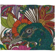 Valentina Ramos Alexis and The Flowers Polyester Fleece Throw Blanket