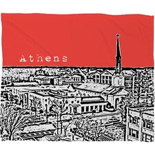 Bird Ave Athens Polyester Fleece Throw Blanket
