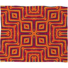 <strong>DENY Designs</strong> Wagner Campelo Sanchezia X Polyester Fleece Throw Blanket