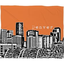<strong>DENY Designs</strong> Bird Ave Denver Polyester Fleece Throw Blanket