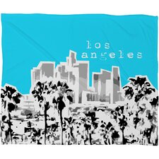 Bird Ave Los Angeles Polyester Fleece Throw Blanket