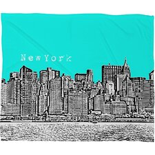 Bird Ave New York Polyester Fleece Throw Blanket