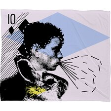 <strong>DENY Designs</strong> Randi Antonsen Poster Hero 1 Polyester Fleece Throw Blanket