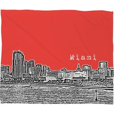 Bird Ave Miami Polyester Fleece Throw Blanket