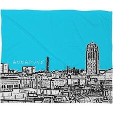 Bird Ave Ann Arbor Polyester Fleece Throw Blanket