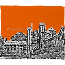 <strong>DENY Designs</strong> Bird Ave Princeton University Polyester Fleece Throw Blanket