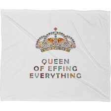Bianca Green Her Daily Motivation Throw Blanket