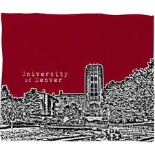 Bird Ave University Polyester Fleece Throw Blanket