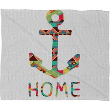 <strong>DENY Designs</strong> Bianca Green You Make Me Home Polyester Fleece Throw Blanket