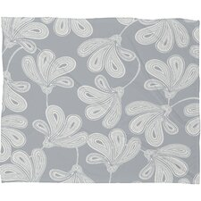 Khristian A Howell Provencal Gray 1 Polyester Fleece Throw Blanket