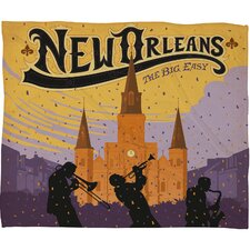 <strong>DENY Designs</strong> Anderson Design Group New Orleans 1 Polyester Fleece  Throw Blanket