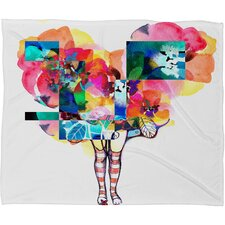 Randi Antonsen Polyester Fleece Throw Blanket