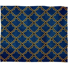 <strong>DENY Designs</strong> Arcturus Quatrefoil Polyester Fleece Throw Blanket