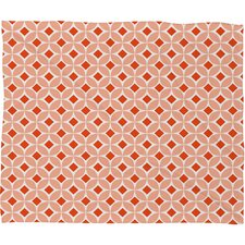 <strong>DENY Designs</strong> Caroline Okun Persimmon Polyester Fleece Throw Blanket