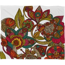<strong>DENY Designs</strong> Valentina Ramos Garden Ava Polyester Fleece Throw Blanket