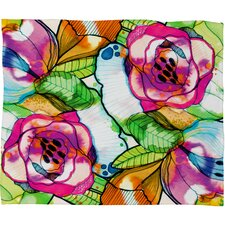 CayenaBlanca Polyester Fleece Throw Blanket