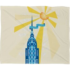 <strong>DENY Designs</strong> Jennifer Hill Polyester Fleece Throw Blanket