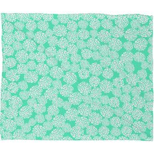 Joy Laforme Polyester Fleece Throw Blanket