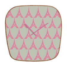Bianca Green Oui Oui Wall Clock