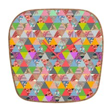 Bianca Green Lost Pyramid Wall Clock