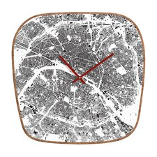 <strong>DENY Designs</strong> CityFabric Inc. Paris Wall Clock