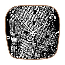CityFabric Inc. NYC Wall Clock
