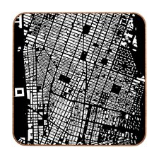 NYC by CityFabric Inc Framed Graphic Art Plaque