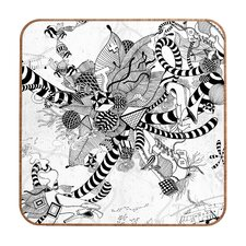 <strong>DENY Designs</strong> Iveta Abolina Black And White Play Wall Art