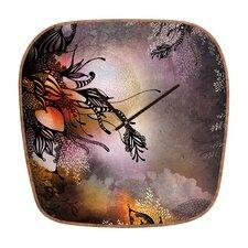 Iveta Abolina Rain Wall Clock